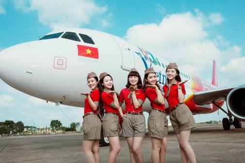 越捷航空公司:开通河内至顺化和河内至台北两条新航线 hinh anh 1