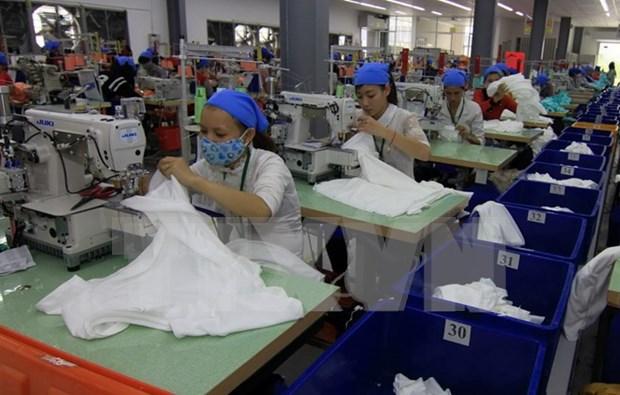 2016年前10月越南工业生产指数略增 hinh anh 1
