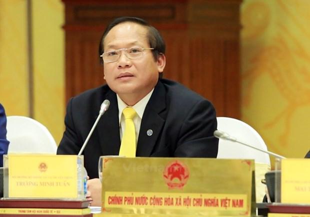 越南信息与传媒部部长张明俊:新闻媒体需要坚持正确的宗旨和目标 hinh anh 1