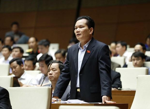 越南第十四届国会第二次会议:严格处理公共投资违法行为 hinh anh 1