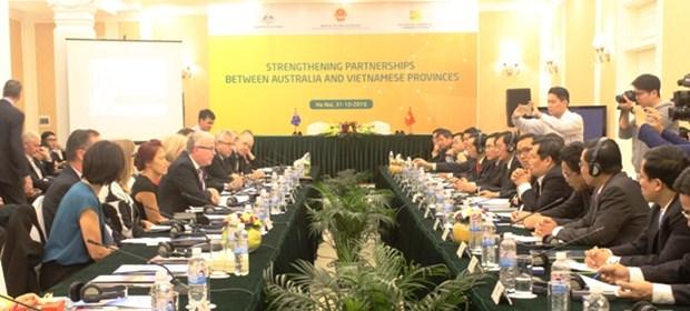 澳大利亚与越南各地加强沟通 促进合作 hinh anh 1