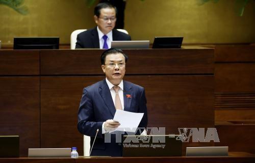 越南第十四届国会第二次会议发表第九号公报 hinh anh 1