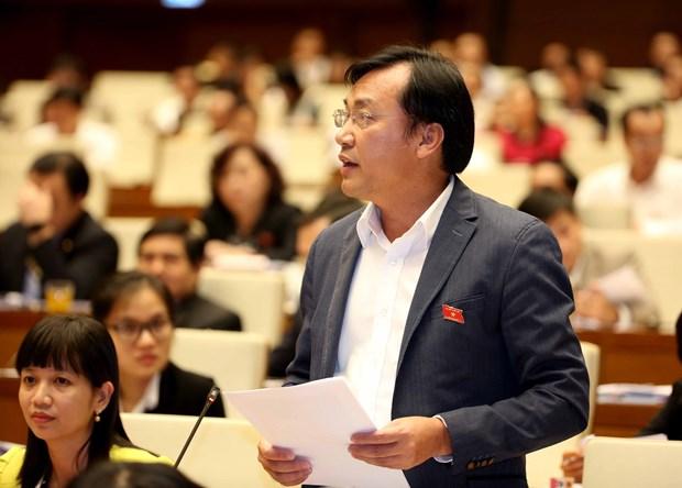 第十四届国会二次会议:选民都强调言行一致的方针 hinh anh 1
