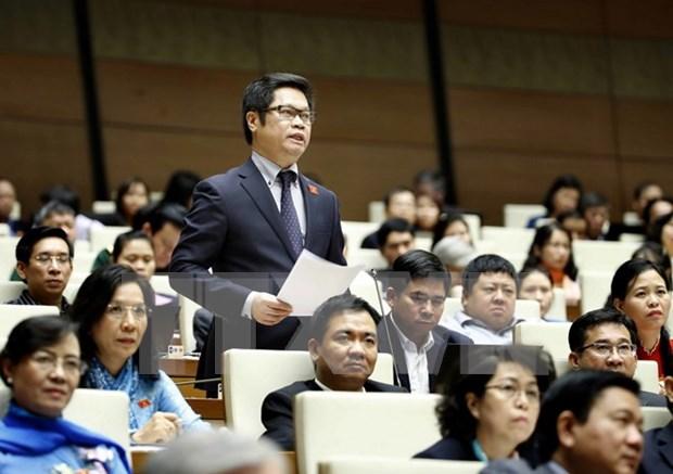 越南第十四届国会第二次会议:推进经济结构调整 发挥人力资源优势 hinh anh 1