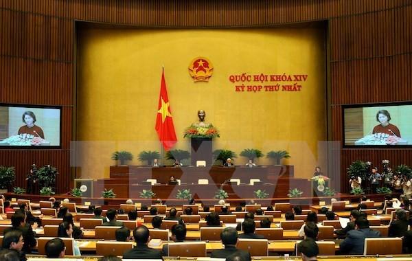 越南第十四届国会第二次会议发表第十一号公报 hinh anh 1