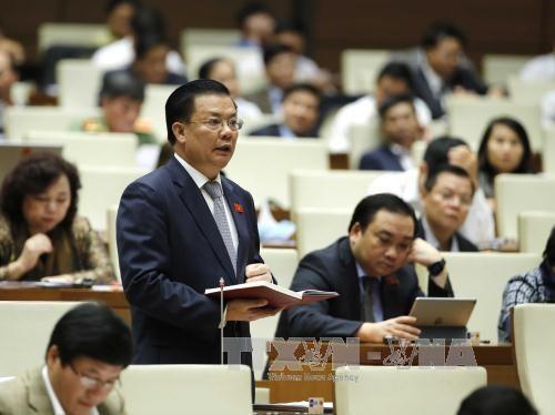 越南第十四届国会二次会议:着重提高人力资源质量 hinh anh 1
