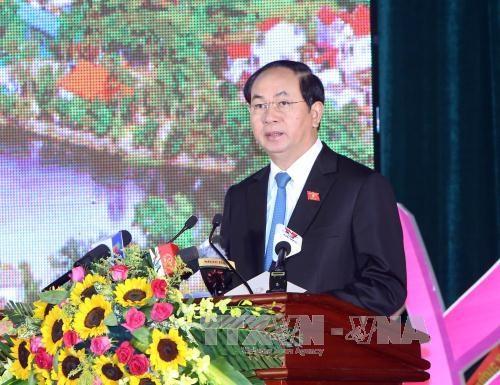 陈大光出席谅山省成立185周年纪念典礼 hinh anh 1
