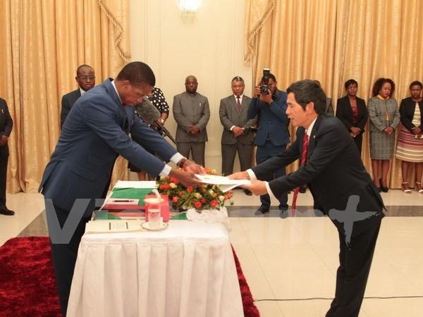 赞比亚希望扩大与越南友好合作关系 hinh anh 1