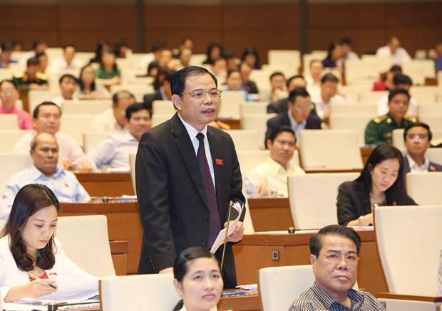 越南第十四届国会第二次会议发表第十二号公报 hinh anh 1