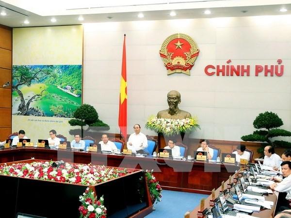 越南政府10月份例行会议决议:保障汇率市场稳定和银行资金流动性畅通 hinh anh 1