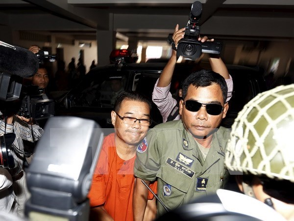 柬埔寨反对党参议员洪索胡被判处7年监禁 hinh anh 1