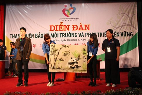 第三届越中青年大联欢:携手保护环境共促可持续发展 hinh anh 1