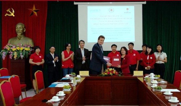 联合国儿童基金会向越南提供12.5万美元的援助资金 hinh anh 1