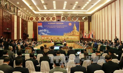 越南同中国和老挝加强检察方面的合作 hinh anh 1