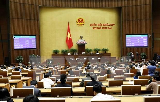 越南第十四届国会第二次会议发表第十四号公报 hinh anh 1