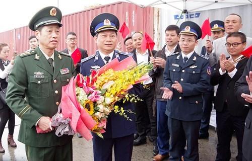 中国海警46305舰开始对越南海防市进行访问 hinh anh 1