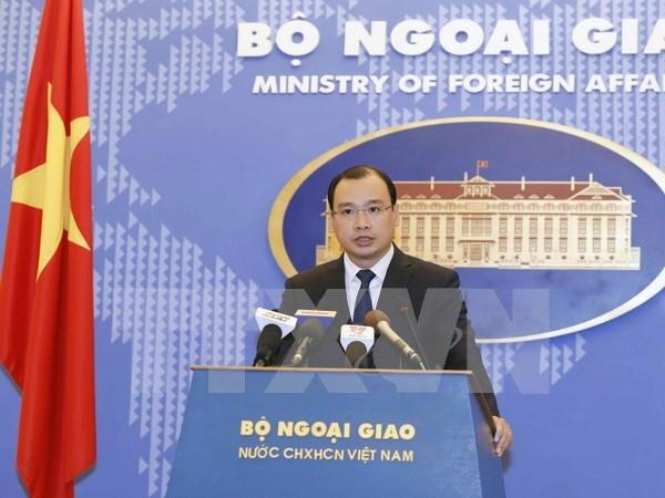 越南外交部发言人黎海平:越南一向重视与美国的友好合作关系 hinh anh 1