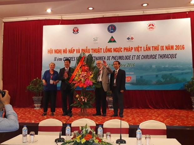 第11届越法呼吸病及胸部手术学术会议在顺化市举行 hinh anh 1