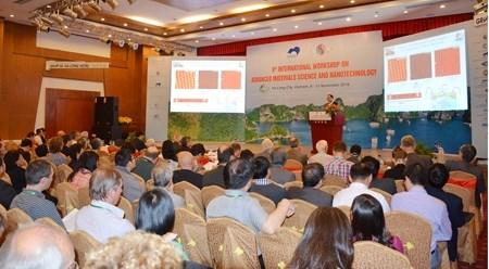 第八届先进材料科学和纳米技术国际会议在广宁省举行 hinh anh 1