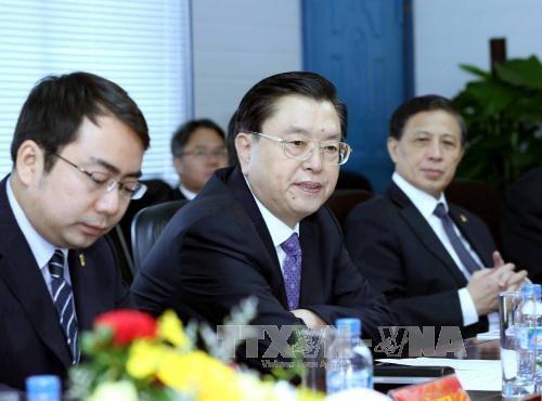 中国全国人大常委会委员长张德江访问岘港市 hinh anh 1