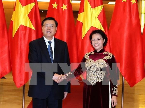 中国全国人大常委会委员长张德江圆满结束对越南进行的正式友好访问 hinh anh 1