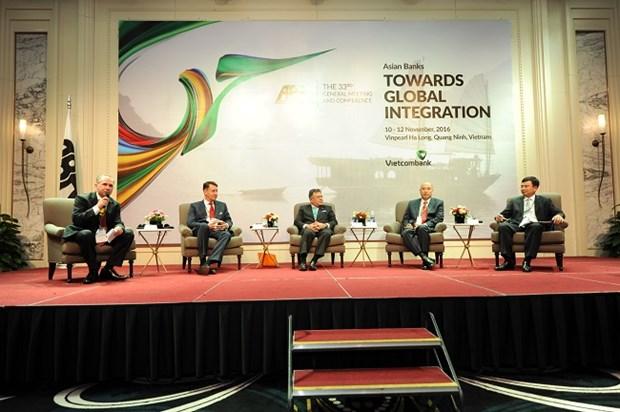 越南承办第33届亚洲银行家协会年度会议 hinh anh 1