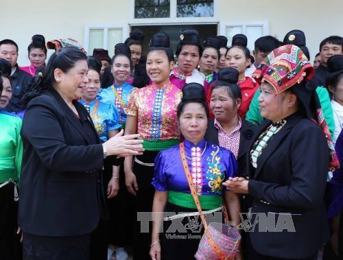 越南国会和政府领导出席各地全民大团结日纪念仪式 hinh anh 1