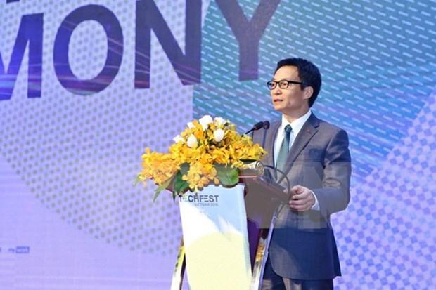 武德儋副总理出席越南创新创业节开幕仪式 hinh anh 1