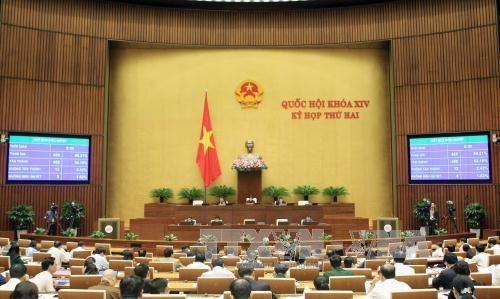 越南第十四届国会第二次会议发表第十八号公报 hinh anh 1