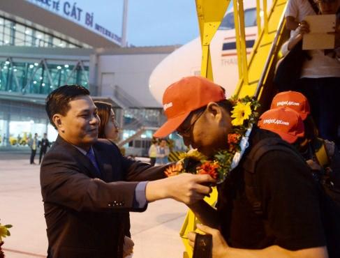 越捷航空公司开通海防市——曼谷直达航线 hinh anh 3