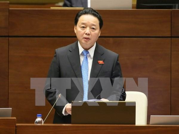 第十四届国会第二次会议:国会主席要求采取有力措施监察造成环境污染的因素 hinh anh 1