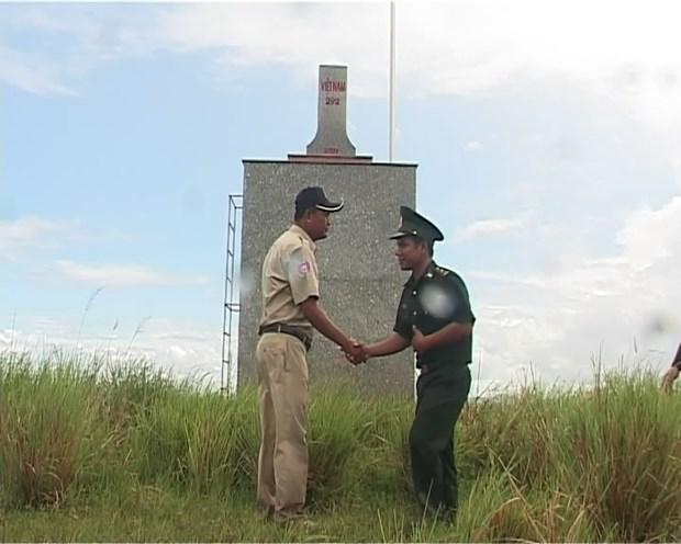 进一步加强越柬边境居民的友好关系 hinh anh 1