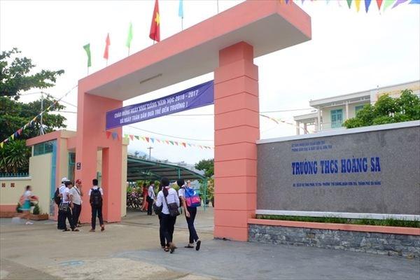 越南岘港市一所学校以黄沙群岛命名 hinh anh 1