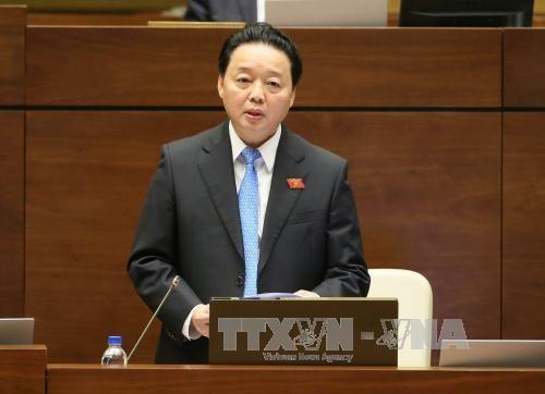 越南第十四届国会第二次会议发表第二十号公报 hinh anh 1