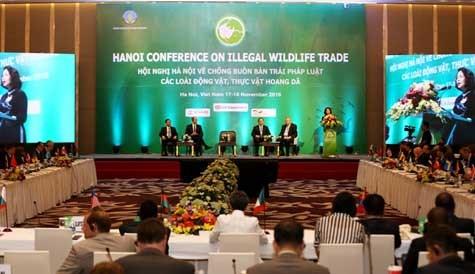 第三次打击野生动植物非法交易国际会议在河内举行 hinh anh 1