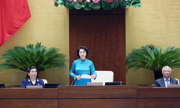 第十四届国会第二次会议:国会代表所提出的问题具有针对性 hinh anh 1