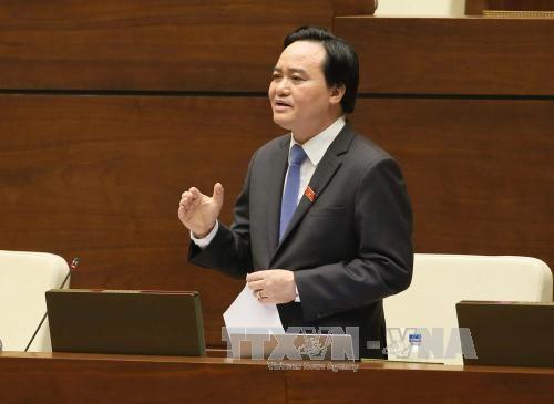 越南第十四届国会第二次会议发表第二十号公报 hinh anh 2