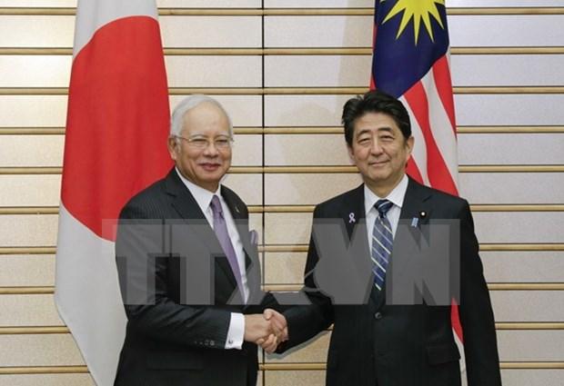 日本首相安倍晋三和马来西亚总理纳吉布举行会谈 重申东海问题立场 hinh anh 1