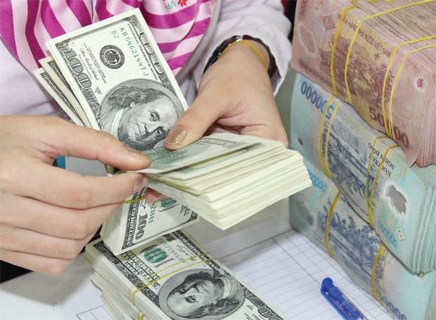 越盾兑美元中心汇率较前一日上涨8越盾 hinh anh 1