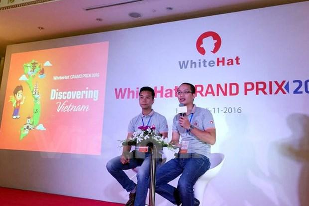 越南举行第2届全球网络安全竞技比赛 hinh anh 1