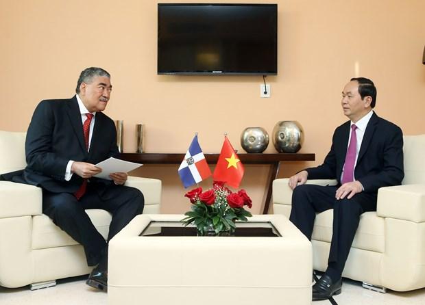 陈大光主席出席越古企业论坛 圆满结束对古巴访问 hinh anh 3