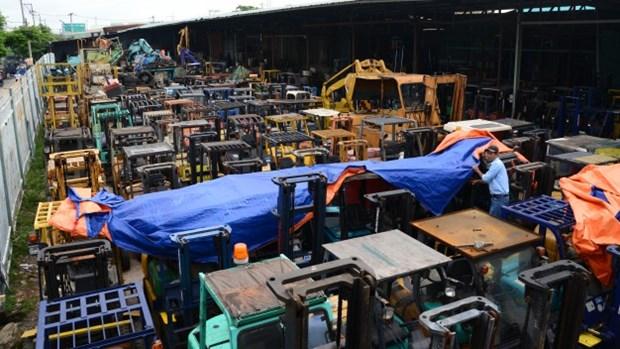 今年前10月越南从中韩两国的商品进口额达逾660亿美元 hinh anh 1