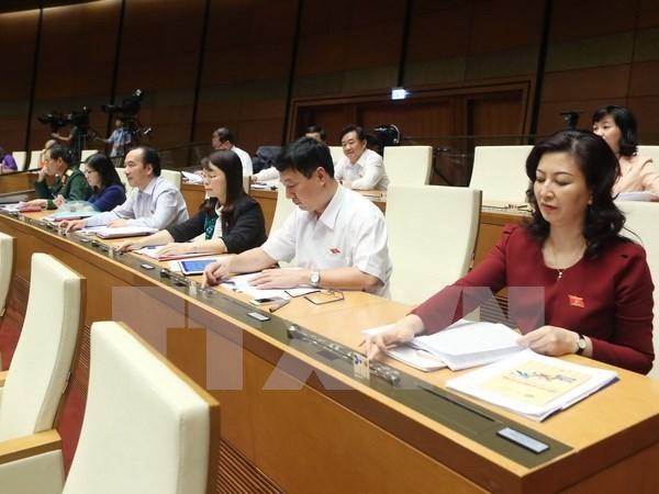 越南第十四届国会第二次会议通过《资产拍卖法》 hinh anh 1