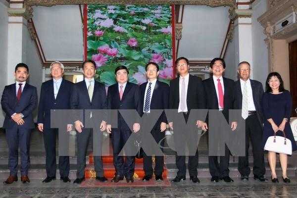 日本将继续援助越南胡志明市开展各基础设施建设项目 hinh anh 1