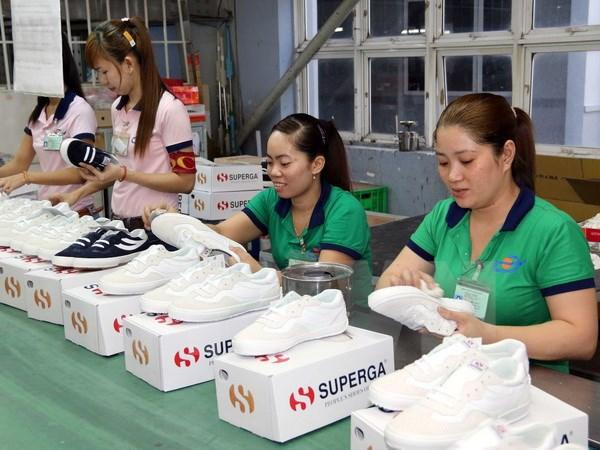 同奈省鞋类出口额增长4亿多美元 hinh anh 1