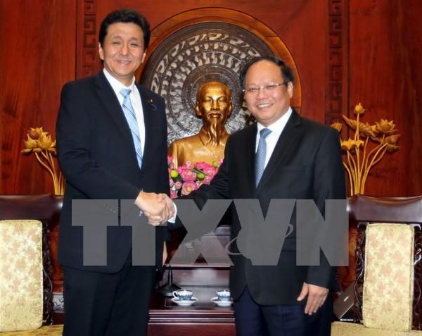 胡志明市与日本努力推动双方合作关系深入发展 hinh anh 1