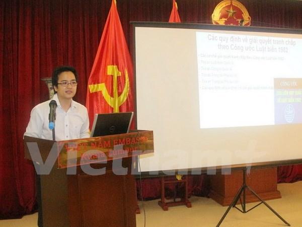越南驻马来西亚大使馆举行东海形势座谈会 hinh anh 1