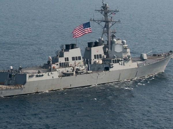 美国军舰到访菲律宾 hinh anh 1