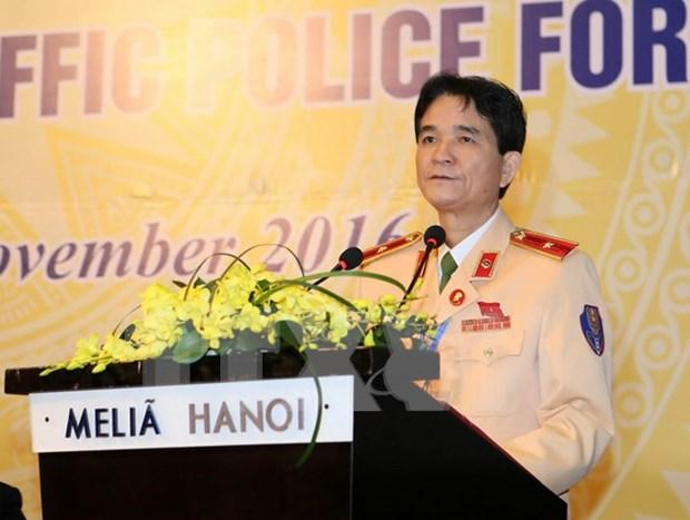 第一届东盟交通警察论坛闭幕 hinh anh 1