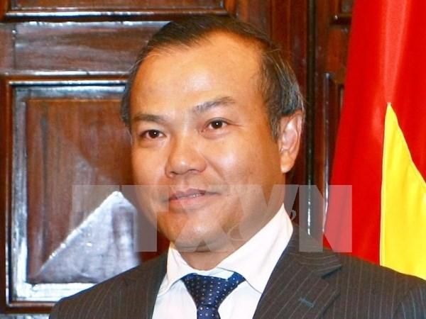 越南外交部副部长武鸿南:柬老越三角开发区是三国的有效合作机制 hinh anh 1